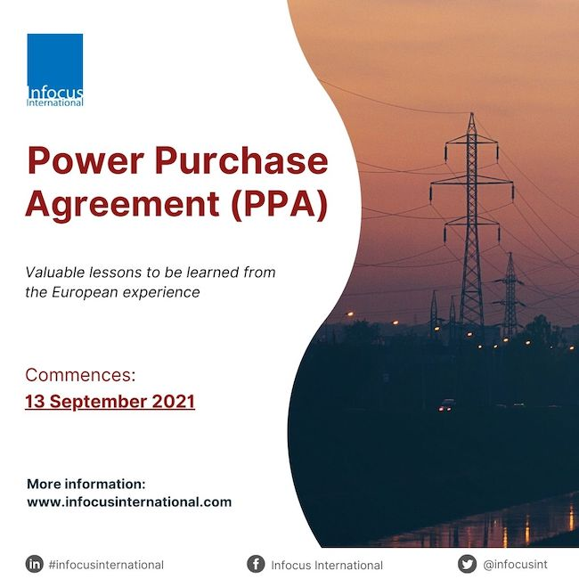Live Online Workshop on Power Purchase Agreement