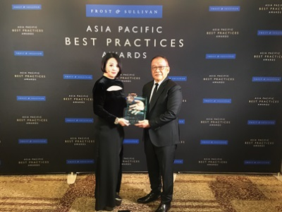 Kerry Logistics Honoured by the Frost & Sullivan Asia Pacific Best Practices Awards for the Third Consecutive Year