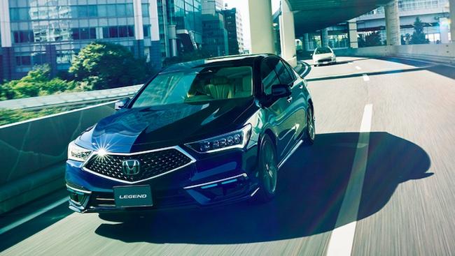 Honda to Begin Sales of Legend with New Honda SENSING Elite