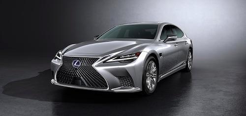 Lexus Premieres New LS