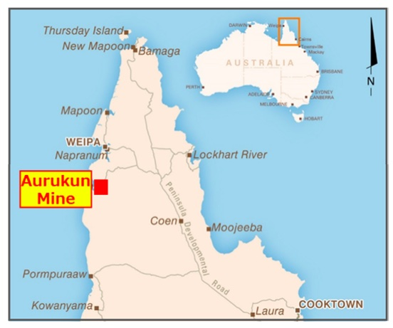 Mitsubishi Corporation Enters Agreement to Acquire Interest in Aurukun Bauxite Project