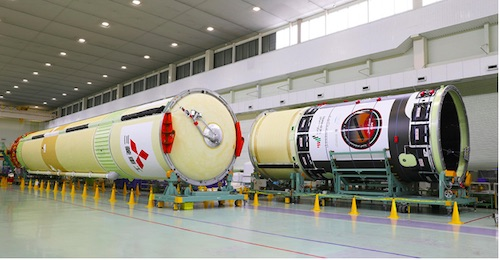 MHI Ships the Core of the H-IIA Launch Vehicle (H-IIA No.42) from Nagoya Aerspace Systems Works Tobishima Plant