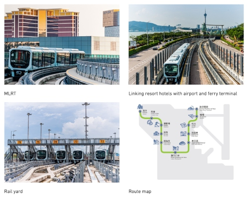 Macau Light Rapid Transit Begins Commercial Operations