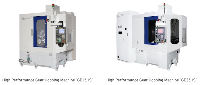 MHI Machine Tool Launches Two New Hobbing Machines With Higher Speed, Precision and Efficiency