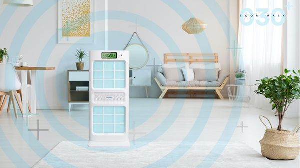 Protect Your Family with the World's First Intelligent CIO2 Air Purifier