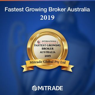 Mitrade Wins Fastest Growing Broker Australia 2019 Award