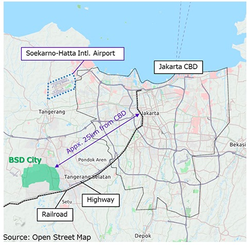 Mitsubishi Corporation and Surbana Jurong Joint Venture to Form Partnership with SinarMas Land to Advance Smart, Sustainable Transit-Oriented Developments in Indonesia