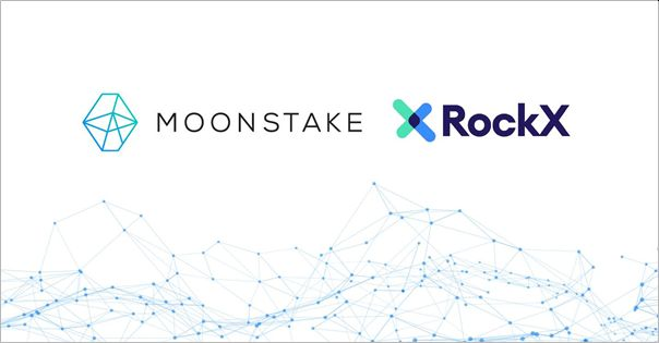 Moonstake Enters a Strategic Partnership with RockX to Support the Polkadot (DOT) Ecosystem