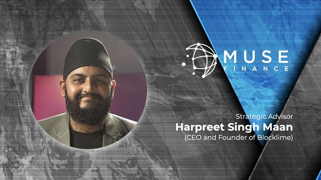 Muse Finance, Strategic DeFi Partner of Moonstake, Welcomes CEO and Founder of Blocklime Aboard as Advisor