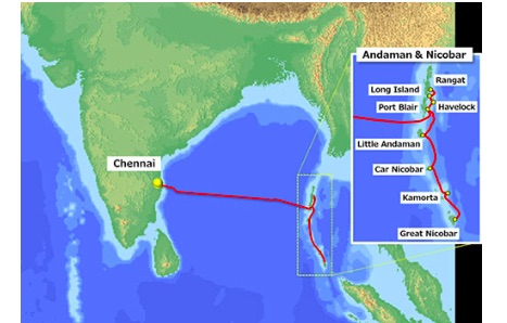 NEC Completes Submarine Cable System for BSNL Connecting Chennai, India and the Andaman & Nicobar Islands