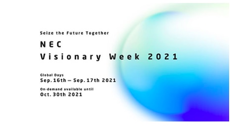NEC to host NEC Visionary Week 2021