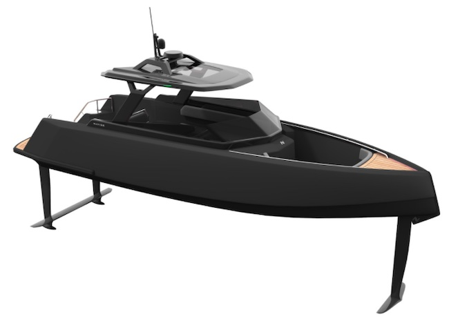 High-Tech Boat Building Startup Navier Aims High with First U.S. Foiling Electric Powerboat