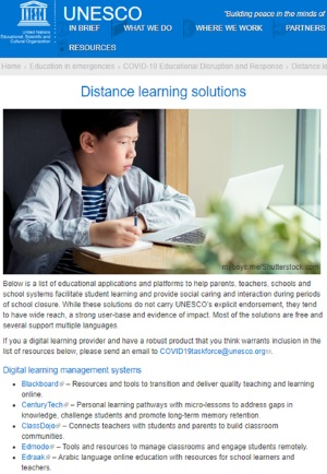 Edmodo, Subsidiary of NetDragon, Recommended by UNESCO for Distance Learning