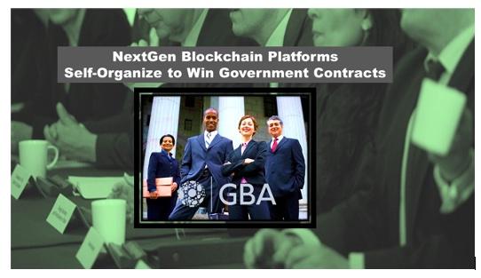 NextGen Blockchain Platforms Self-Organize to Win Government Contracts
