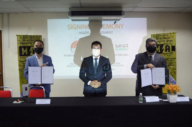 Ni Hsin Signs HOA with MNA Energy to Develop Battery Technology for EV Two Wheelers