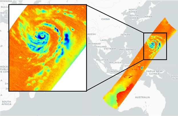 Orbital Micro Systems Captures High Resolution Passive Microwave Temperature Soundings of Typhoon Hagibis
