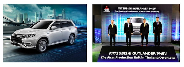 MITSUBISHI MOTORS Starts First Overseas Production of OUTLANDER PHEV in Thailand
