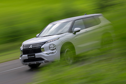 All-New Outlander PHEV Model to Adopt an Evolved All-Wheel Control Technology to Provide Safe, Secure and Comfortable Driving