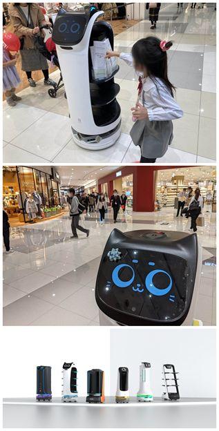 PuduRobotics配膳ロボット「Bella(ベラ)」がイオンモールに出勤 テレビ朝日が紹介しました