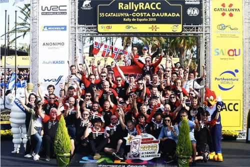 Tanak Takes Historic First Title with the Toyota Yaris WRC