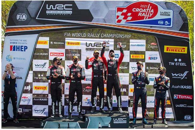 Incredible finish delivers TOYOTA GAZOO Racing one-two