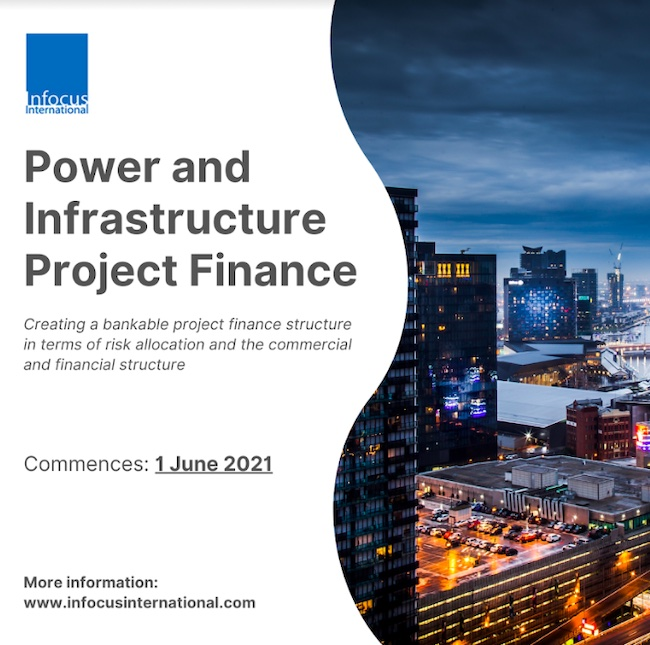 Infocus International Launches Online Masterclass on Power & Infrastructure Project Finance