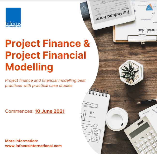Live Online Masterclass on Project Finance & Project Financial Modelling