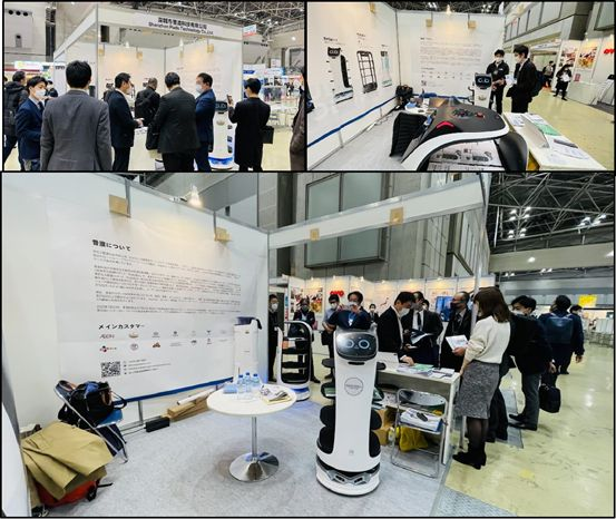 Pudu Roboticsが日本HCJ展示会に、最新式の配膳ロボットと消毒ロボットを展示