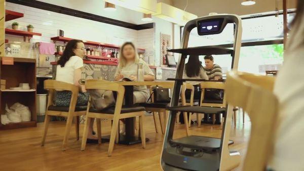 PuduBot Gets a Job at an Australian BBQ Restaurant