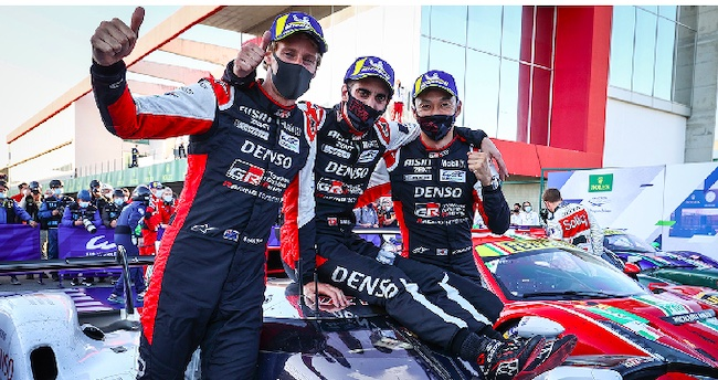One-Two in Race 100 for TOYOTA GAZOO Racing