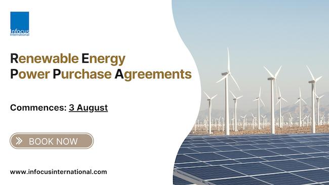 Infocus International Announces New Online Training on Renewable Energy Power Purchase Agreements