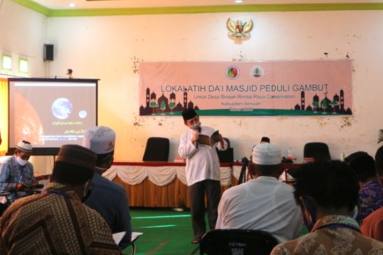 Building Environmental Awareness through Religious Leaders Training on Peatland and Conservation