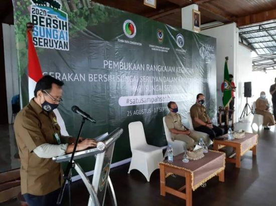 Rimba Raya launches Seruyan River Cleanup Movement 2020