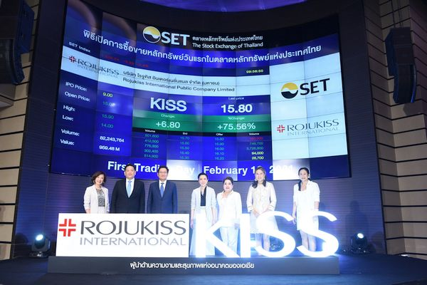 Rojukiss International PCL (SET: KISS) embraces future as Asian health & beauty leader