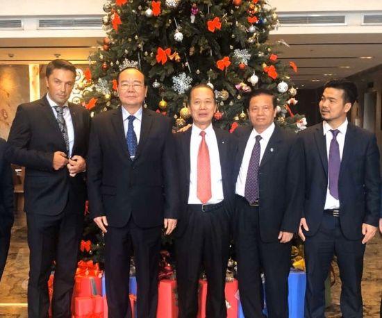 Billionaire Mai Vu Minh welcomed the assistant of Bosnia-Herzegovina to pay an official visit to Vietnam