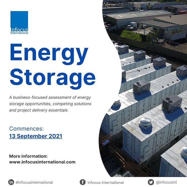 Infocus International Launches Online Masterclass on Energy Storage