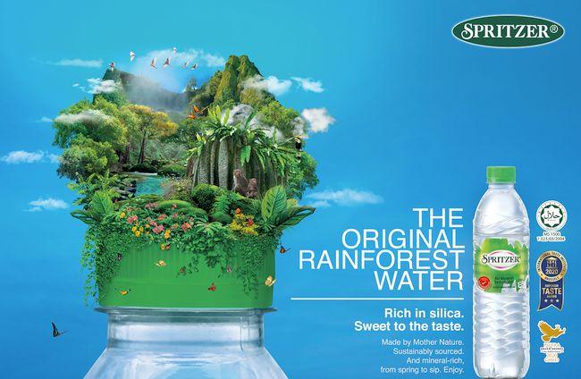 Spritzer Natural Mineral Water Passes Test for Plastics Contaminants