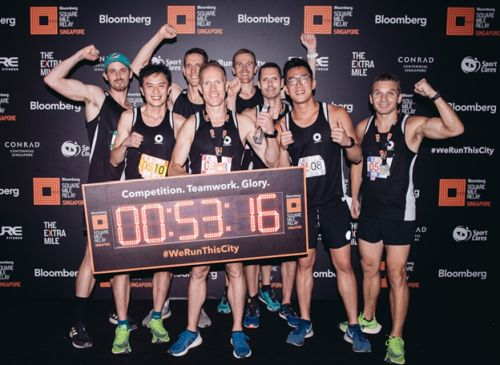 Macquarie Clinch Bloomberg Square Mile Relay Title for a Seventh Consecutive Time