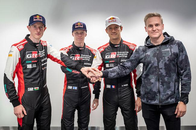 TOYOTA GAZOO Racing Counts on Proven Winners for a New WRC Era