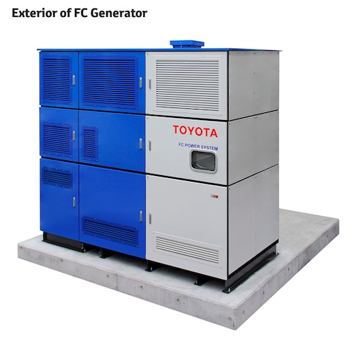 Tokuyama and Toyota Start Verification Tests in Japan for Stationary Fuel Cell Generator that Uses By-product Hydrogen