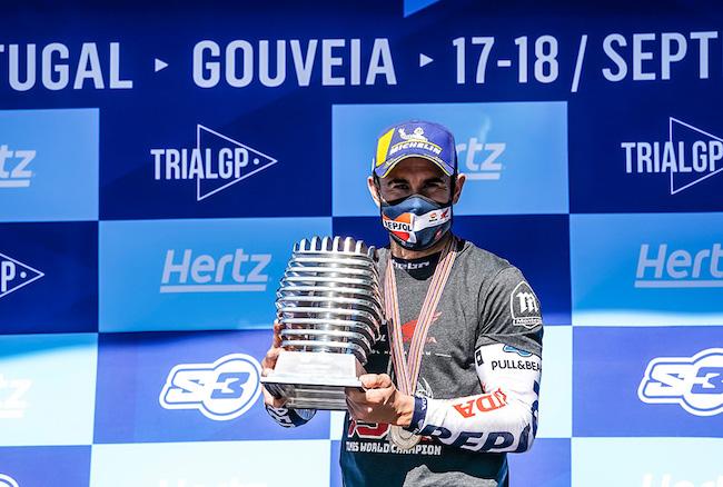 Honda: Toni Bou Wins 15th Consecutive FIM Trial World Championship Title