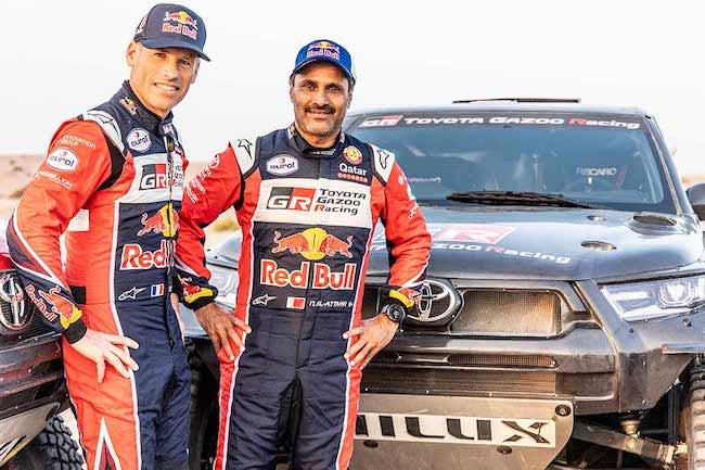 TOYOTA GAZOO Racing Announces Four-Car Team and All-New Toyota GR DKR Hilux T1+ for Dakar 2022