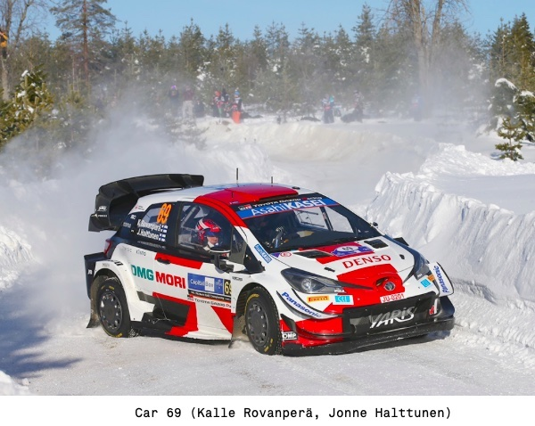 Flying Finn Rovanpera Claims the Championship Lead in the Toyota Yaris WRC