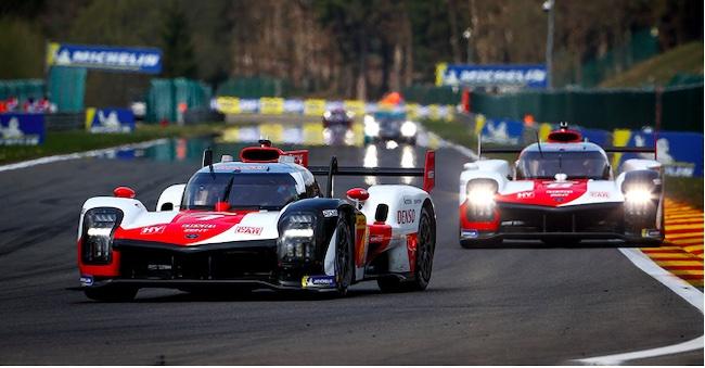 Toyota Hits World Championship Century at Portimao