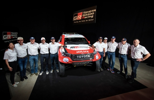 TOYOTA GAZOO Racing Announces 2020 Dakar Rally Team