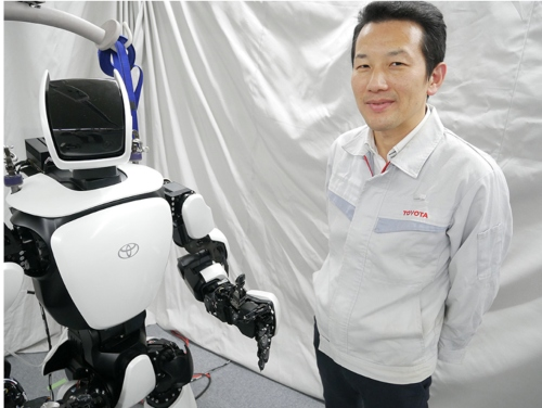 Why is Toyota Developing Humanoid Robots?