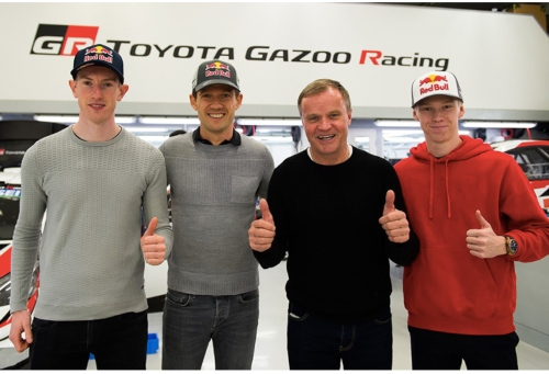Ogier, Evans and Rovanpera: An Exciting New Line-Up to Drive the Toyota Yaris WRC in 2020