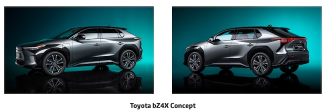Toyota announces its new BEV series, Toyota bZ, in establishment of a full line-up of electrified vehicles