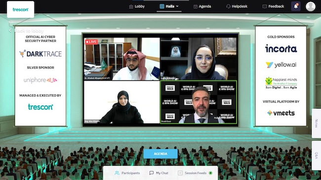 The 29th Edition of the Trescon's World AI & RPA Show Paved the Way for AI and RPA in the MENA Region