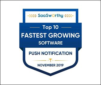 Truepush named Fastest Growing Software in Push Notification